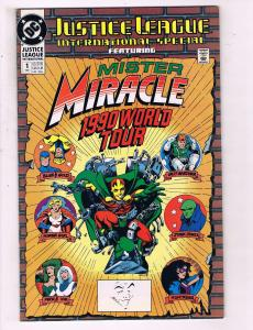 Justice League International Special #1 VF DC 1990 World Tour Comic Book DE14