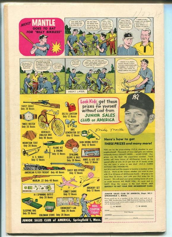 World's Finest #83 1957-DC-Superman-Batman-Green Arrow-Tomahawk-VG