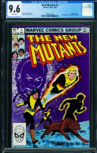 The New Mutants #1 CGC 9.6 1st issue-1983 Marvel comic book  1991126014