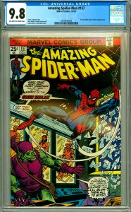Amazing Spider-Man 137 CGC Graded 9.8 2nd Harry Osborn Green Goblin
