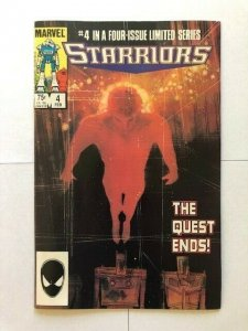 MARVEL STARRIORS #4 1984 VERY FINE+ (PF962)