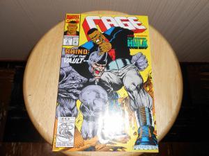 Cage (1992 1st Series) #9 Dec 1992 Cover price $1.25 Marvel