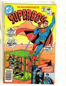 12 New Adventures of Superboy DC Comics 26 27 28 29 30 31 32 35 36 37 39 40 WS1
