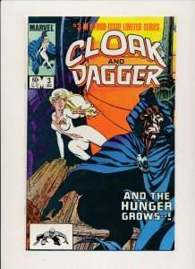 Marvel Comics-CLOAK AND DAGGER #3 1983  F/VF (PF936)