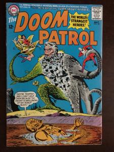 DOOM PATROL! #95  BRIGHT VF- GLOSSY!!  CLASSIC! ANIMAL-VEG-MINERAL MAN!  BEAUTY!