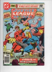 JUSTICE LEAGUE OF AMERICA #183, FN-, Superman, Wonder Woman, DC, 1980, Mark