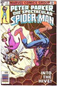 Spider-Man, Peter Parker Spectacular #37 (Dec-80) VF- High-Grade Spider-Man