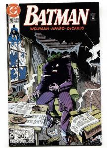 Batman #450 comic book 1991-DC JOKER cover