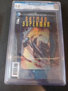 ​BATMAN/SUPERMAN:FUTURES END #1 CGC 9.8 3-D LENTICULAR COVER
