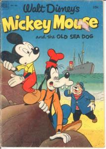 MICKEY MOUSE F.C. 411 G-VG COMICS BOOK
