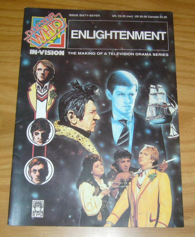 Doctor Who: In-Vision #67 VF/NM; GLA | save on shipping - details inside