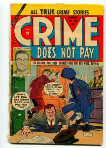 CRIME DOES NOT PAY #130 1954-GEORGE TUSKA-G