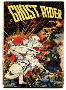 Ghost Rider #3 1951-ME-FRANK FRAZETTA western horror-Dick Ayers comic book