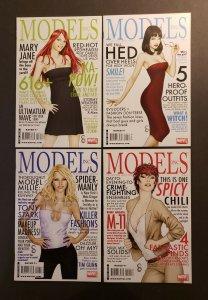 MODELS #1-4 SET MARVEL COMICS 2009 VF/NM