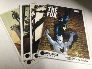 The Fox Chapter 2 3 4 5 Variant Lot Nm Near Mint Dark Circle Comics