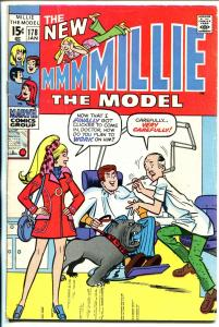 Millie The Model #178 1970-dentist office cover- fashion page-VG+