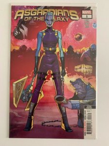 Asgardians of The Galaxy #1 2nd print Variant  Marvel Comics NM