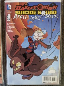 Harley Quinn & the Suicide Squad April Fools' Special #1 (2016)