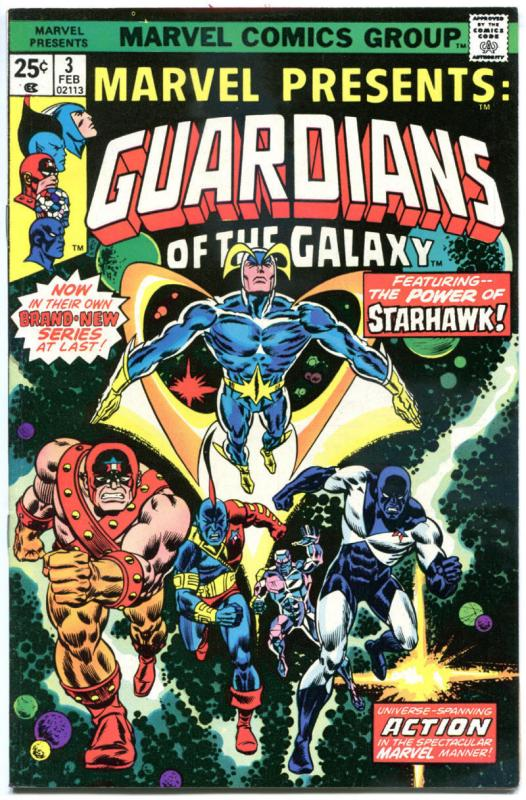 MARVEL PRESENTS #3, VF, Guardians of the Galaxy, 1975, more Bronze in store