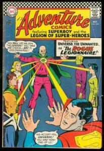 ADVENTURE COMICS #349-DC COMICS-FIRST UNIVERSO-SUPERBOY G/VG