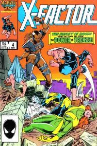 X-Factor (1986 series) #4, VF- (Stock photo)