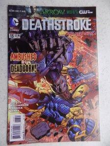 NEW 52 DEATHSTROKE # 13