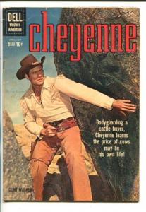 CHEYENNE #15-1960-DELL-CLINT WALKER-TV PHOTO COVER-vg