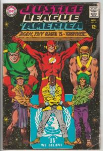 Justice League of America #57 (Nov-67) FN Mid-High-Grade Justice League of Am...