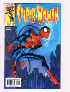 Spider Woman #2 FN Marvel Comic Book Byrne Spider-Man Avengers Aug 1999 DE34