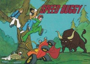 SPEED BUGGY #20  CARD BY CARDZ (SATURDAY MORNING CARTOONS)