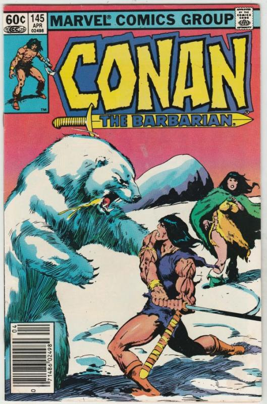 Conan the Barbarian #145 (Mar-83) NM- High-Grade Conan the Barbarian