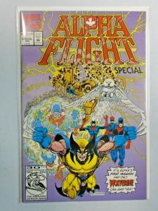 Alpha Flight Special #1 Wolverine 8.0 VF (1992)