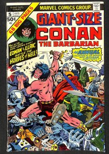Giant-Size Conan #5 VG/FN 5.0