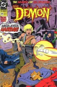 Demon (1990 series) #24, NM- (Stock photo)