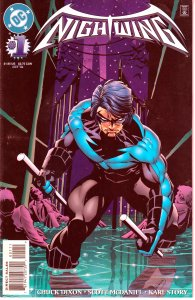 Nightwing(vol. 1) # 1   Dick Grayson in his first ongoing series