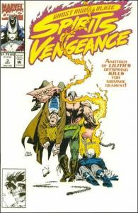 Marvel GHOST RIDER/BLAZE: SPIRITS OF VENGEANCE #3 VF