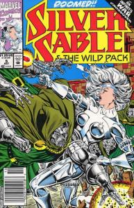 Silver Sable #5 VF/NM; Marvel | save on shipping - details inside