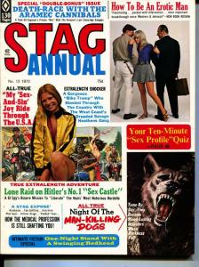 Stag Annual-1972-Pussycat-Motorcycle-Nazi-Dogs-Adventure