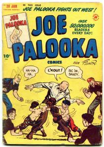JOE PALOOKA #28 1949-HARVEY COMICS-BABE RUTH STORY VG-