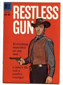 Restless Gun-Four Color Comics #1045 1960-Dell-John Payne TV photo cover-VF