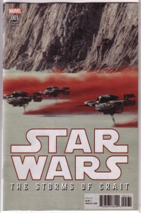 Star Wars  : The Last Jedi -- The Storms of Crait #1C VF