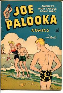 JOE PALOOKA COMICS #2-SPICY LIFEGUARD COVER VG+