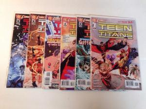Teen Titans 1-6 Near Mint Lot Set Run New 52