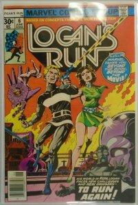Logan's Run #6 - 7.0 FN/VF - 1977