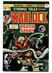 STRANGE TALES #179-WARLOCK-MCU-PIP THE TROLL-GOTG 1975