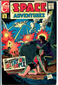 Space Adventures #4 1968-Charlton-Pat Boyette-Jim Aparo-Hitler-V-2 Rocket-FN