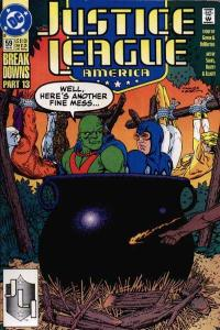 Justice League (1987 series) #59, NM- (Stock photo)