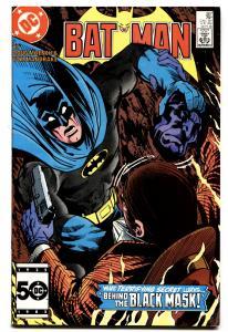 BATMAN #387 comic book 1985-2nd BLACK MASK DC