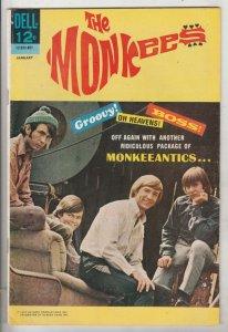 Monkees, The #8 (Jan-68) VF/NM High-Grade The Monkees (Peter Tork, David Jone...