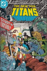 NEW TEEN TITANS #10, VF/NM, Wolfman, Lopez, DC 1984 1985  more DC in store